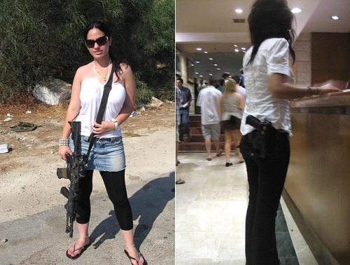 girls with guns images. girls-carrying-guns-israel-jew
