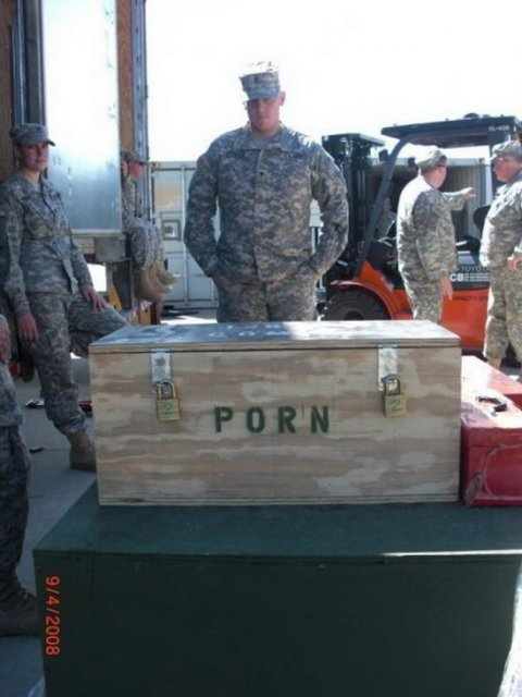I donated to the troops Military-spec-porn