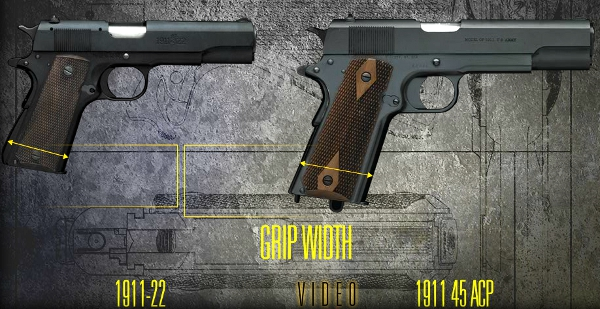 browning-1911-22-vs-full-size-1911