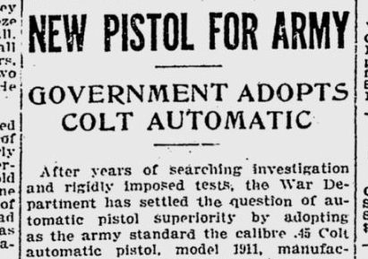 colt-1911-newspaper-clipping