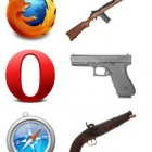 If Web Browsers Were Guns