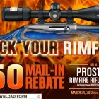 $50 Rebate On All Nikon Prostaff Rimfire Scopes