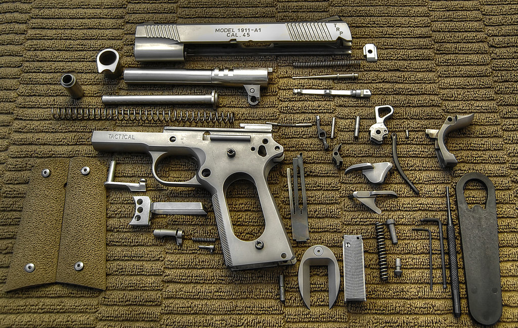 1911-disassembled