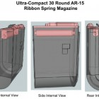 "New Compact AR-15 ""Ribbon Spring"" Magazine Concept"