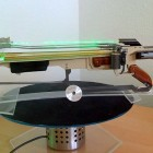 Spinning Sawblade Shooting Crossbow