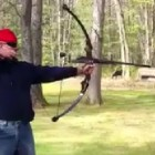 12-Gauge Shotgun Compound Bow