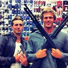 Australian Olympic Swimmers In Hot Water Over Gun Photo