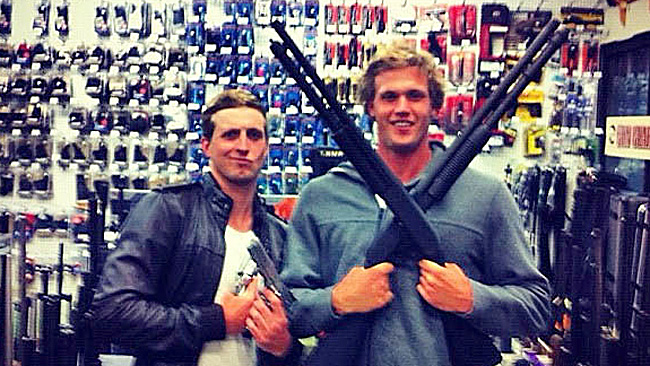 australian-swimmers-guns