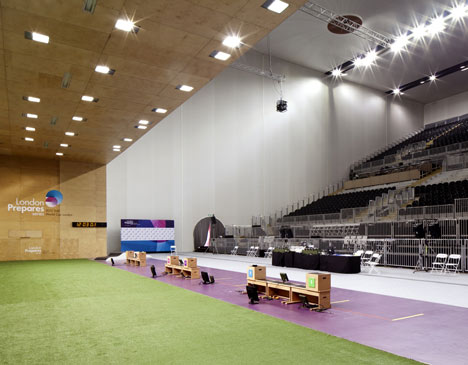 London 2012 Olympics Shooting Venue Armory Blog