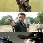 The many poses of Rick Grimes