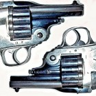 Triple Barrel 18-Shot Revolver