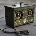 DIY Surplus Ammo Can Speaker Box