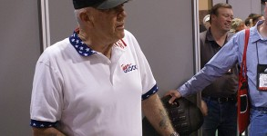 R. LEE ERMEY at the SHOT Show