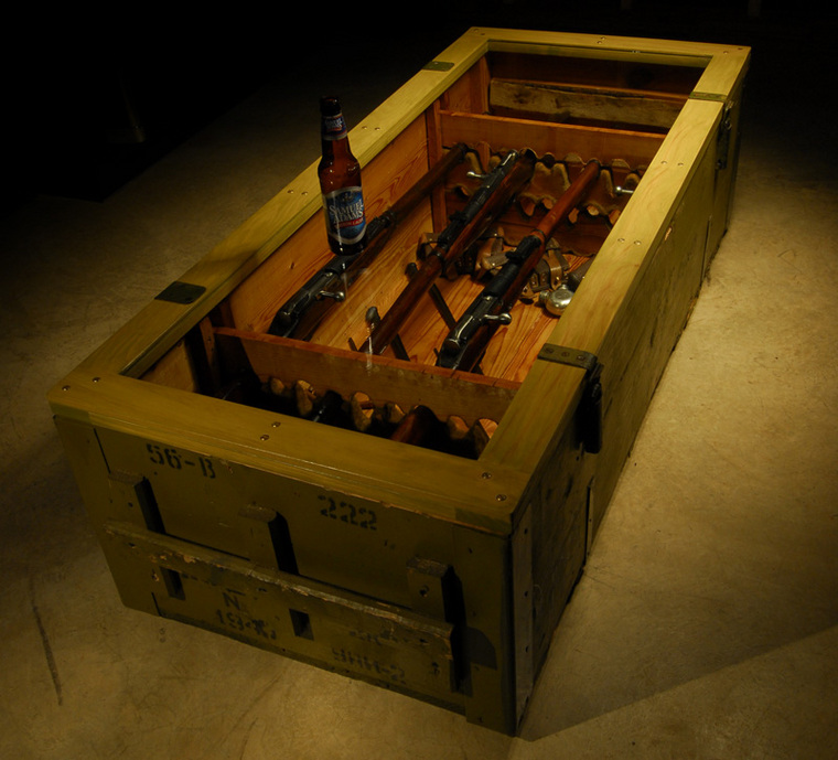 The Mosin Nagant Coffee Table