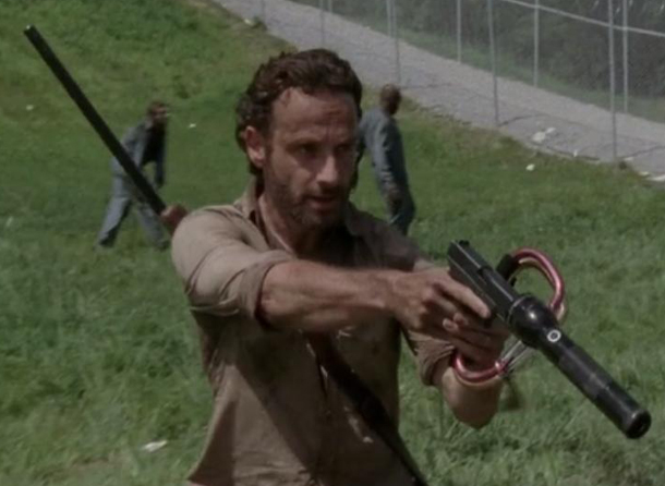 Rick S Maglite Sound Suppressor From The Walking Dead S3