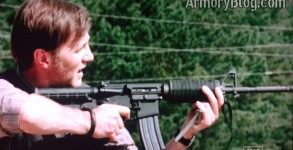 the walking dead ar-15 no sight