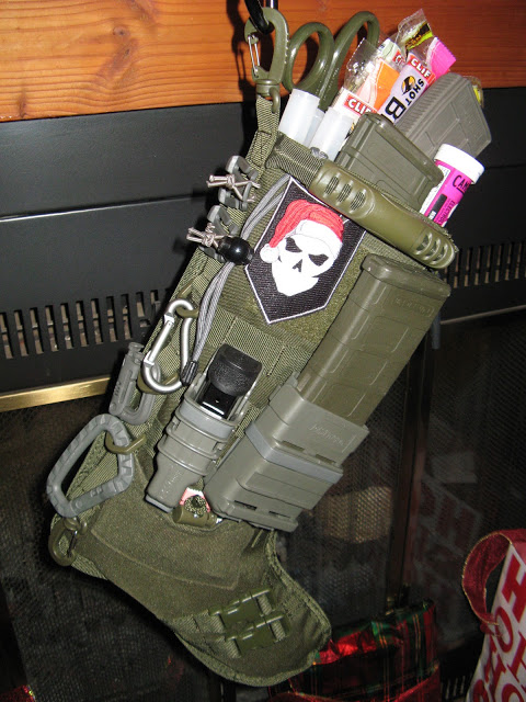 Tactical Molle Christmas Stockings | Armory Blog