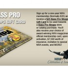 Join the NRA and Get a $25 Bass Pro Gift Card