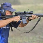 Jerry Miculek Hunts Raptors with a SPAS-12 Shotgun