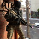 Call of Duty Statue And The LAPD Faceoff