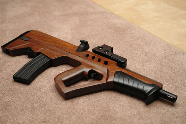 Wood stock for the iwi tavor armory blog