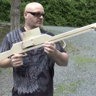 Homemade Mag Fed Pump-Action Crossbow
