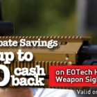 EOTech Summer 2014 Rebate