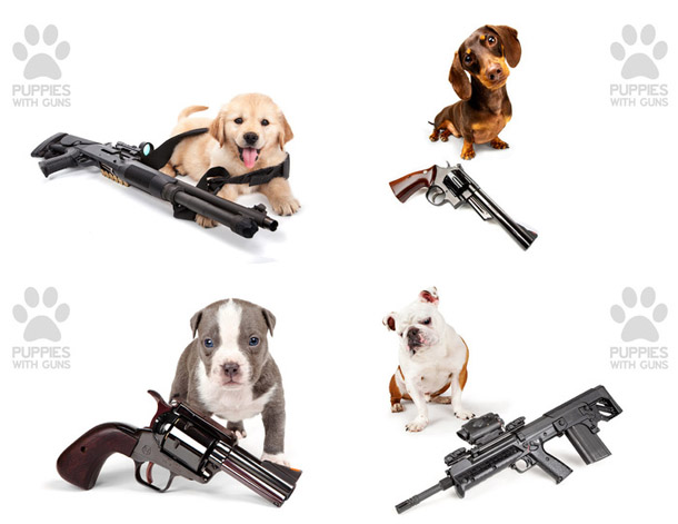 puppies-with-guns