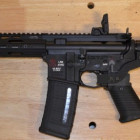 AR Pistol with a Bumpfire Sig SBX Arm Brace, Someone Actually Made One