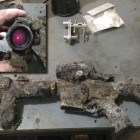 Aimpoint PRO Survives Housefire