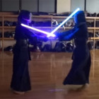 Kendo with Lightsabers
