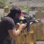 Keanu Reeves Killin It While Shooting 3-Gun